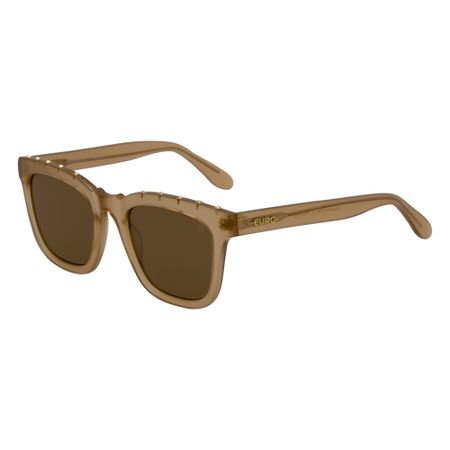 Óculos Euro Spike Glam Feminino Bege E0034B6133/8M