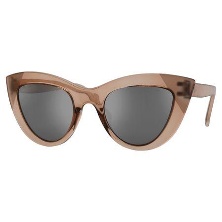 Óculos Euro Retrô Cat Nude E0046B6109/8K