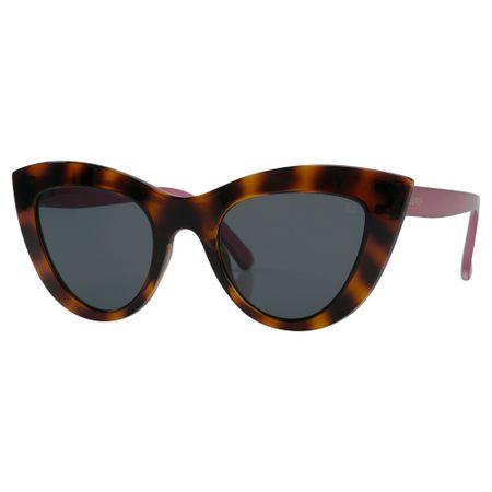 Óculos Euro Retrô Cat Tartaruga E0046F6801/8C