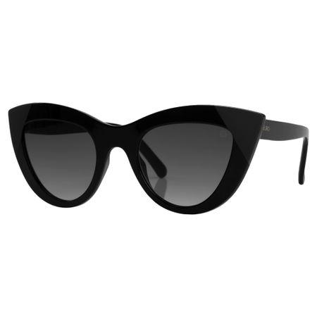 Óculos Euro Retrô Cat Preto E0046A0233/8C