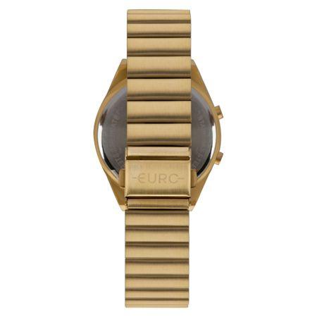 Relógio Euro Fashion Fit Feminino Dourado EUBJT016AA/4D