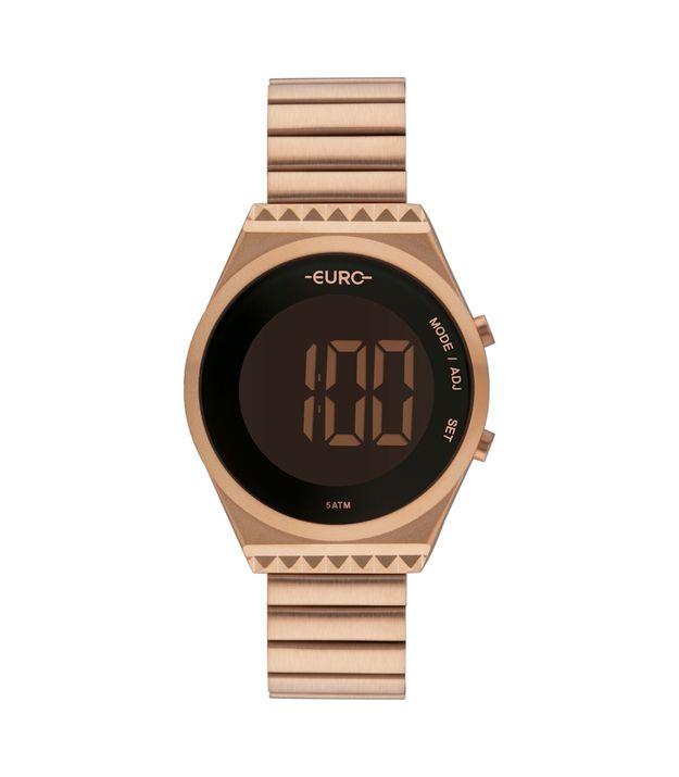 d1e6f64930 Relógio Euro Fashion Fit Slim Feminino Rosé EUBJT016AB 4J