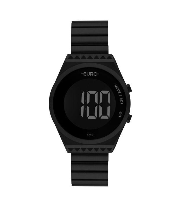 d308d495f4eca Relógio Euro Fashion Fit Slim Feminino Preto EUBJT016AD 4P