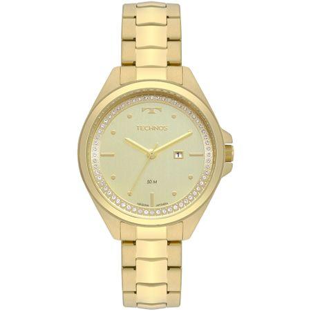 Relógio Technos Trend Feminino Dourado 2015CBV/4X