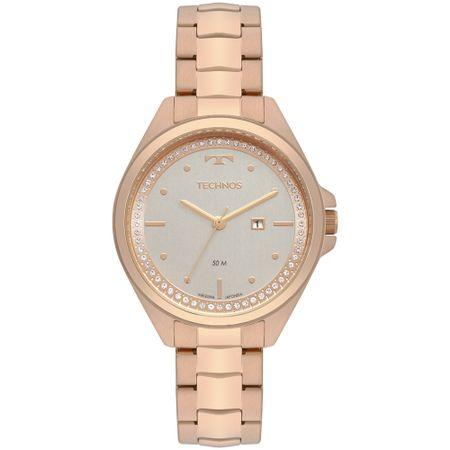 Relógio Technos Trend Feminino Rosé 2015CBW/4K