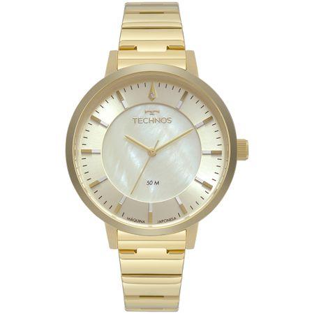 Relógio Technos Trend Feminino Dourado 2033CQ/4X