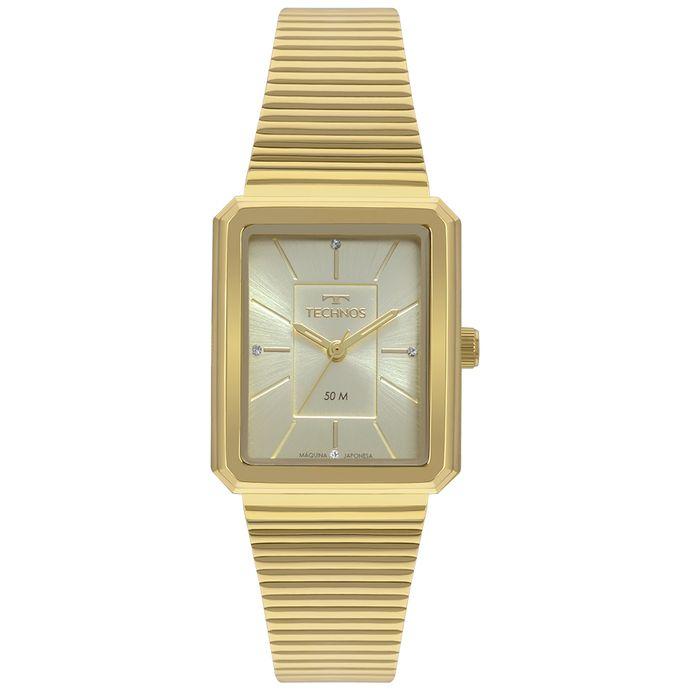 335b10c8c88 Relógio Technos Trend Feminino Dourado 2035MRB 4X