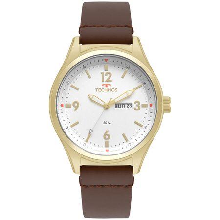 Relógio Technos Militar Masculino Dourado 2105AZ/2B