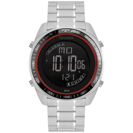 Relógio Technos Racer Masculino Prata BJ3373AB/1P