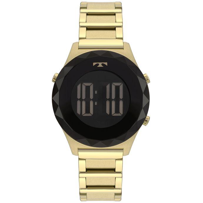 4867ebf791366 Relógio Technos Crystal Feminino Dourado BJ3851AB 4P