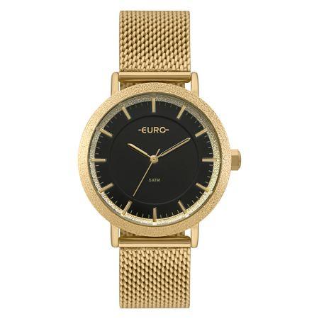 Relógio Euro Construções Feminino Dourado EU2039JM/4P