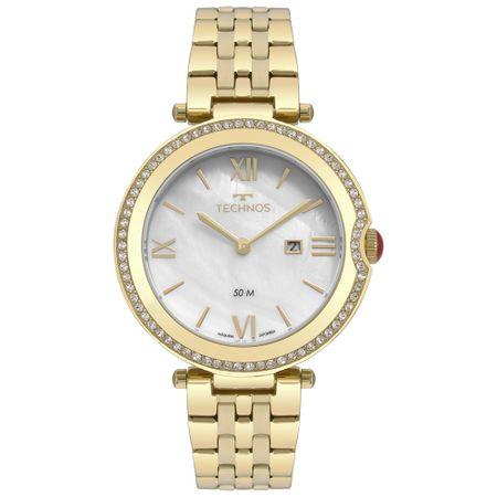 Relógio Technos St.Moritz Feminino Dourado GL15AT/4B