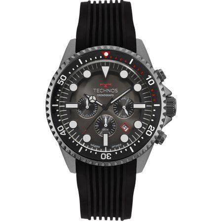 Relógio Technos Skymaster Masculino Grafite JS25CC/8P