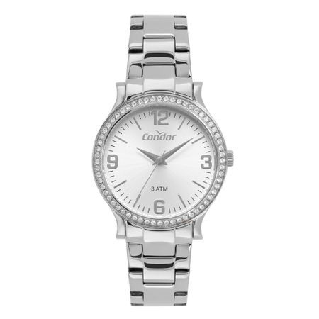 Relógio Condor Eterna Feminino Prata CO2039BN/1K