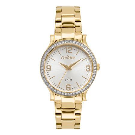 Relógio Condor Eterna Feminino Dourado CO2039BO/1D