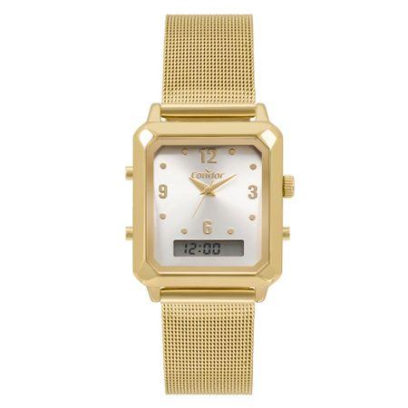 Relógio Condor Top Fashion Feminino Dourado COBJ3718AB/4K