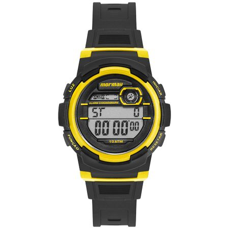Relógio Mormaii Fun Unissex Prata MO0201B/8Y