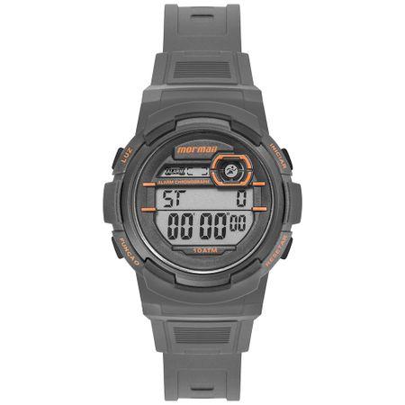 Relógio Mormaii Fun Unissex Prata MO0201C/8L