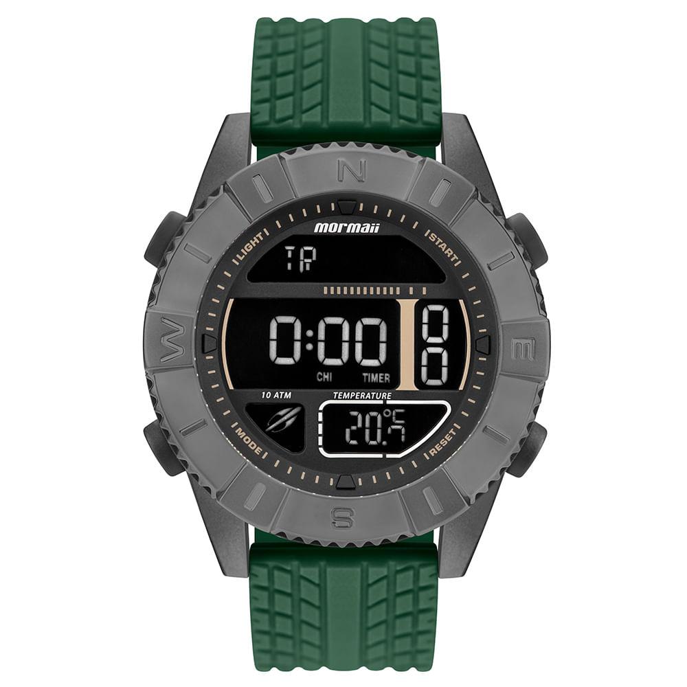 e45202edecab0 Relógio Mormaii Action Masculino Grafite MO5334AE 8C - timecenter