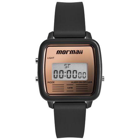 Relógio Mormaii Vintage Unissex Preto MOJH02BB/8J