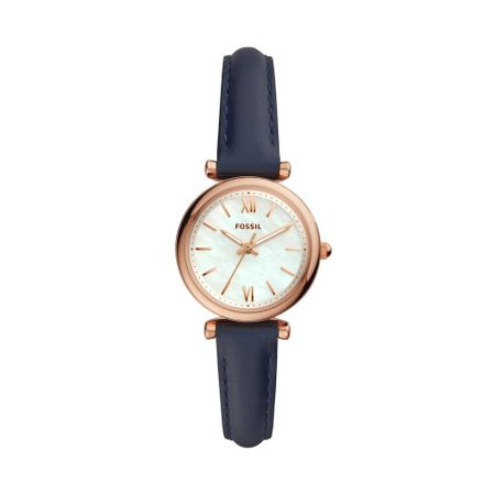 Relógio Fossil Carlie Mini Feminino Rosé ES4502/0TN
