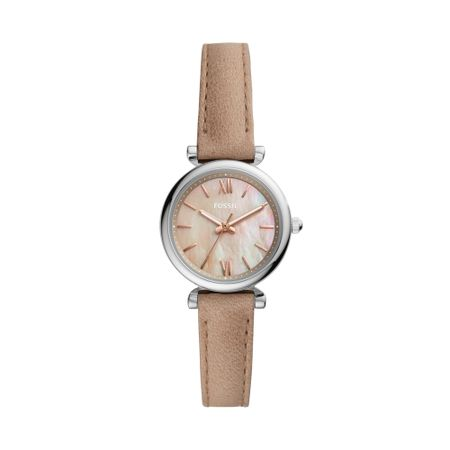 Relógio Fossil Carlie Mini Feminino Prata ES4530/0KN