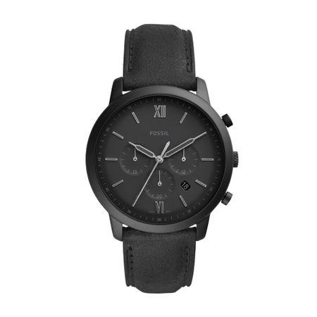 Relógio Fossil Neutra Chrono Masculino Preto FS5503/0PN