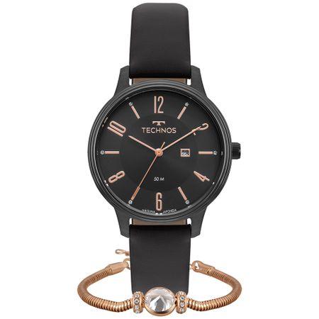 Relógio Technos Dress Feminino 2015CCK/K2P