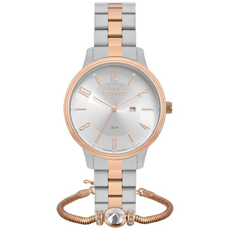 Relógio Technos Dress Feminino 2015CCI/K5K