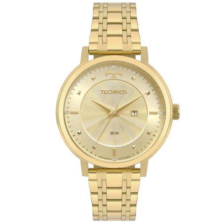 Relógio Technos Trend Feminino Dourado 2015CCS/4X