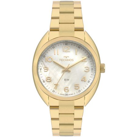 Relógio Technos Boutique Feminino Dourado 2036MLA/4X