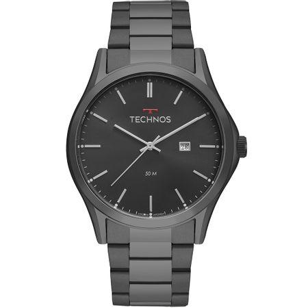 Relógio Technos Steel Masculino Preto 2115MSH/4P