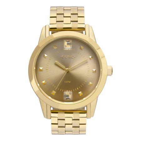 Relógio Euro Spike Illusion Feminino Dourado EU2035YRT/4D