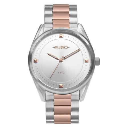 Relógio Euro Minimal Shine Feminino Bicolor EU2036YOB/5K
