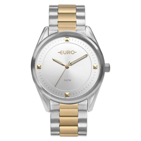 Relógio Euro Minimal Shine Feminino Bicolor EU2036YOC/5K