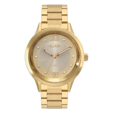 Relógio Euro Girl Power Feminino Dourado EU2036YOH/4D