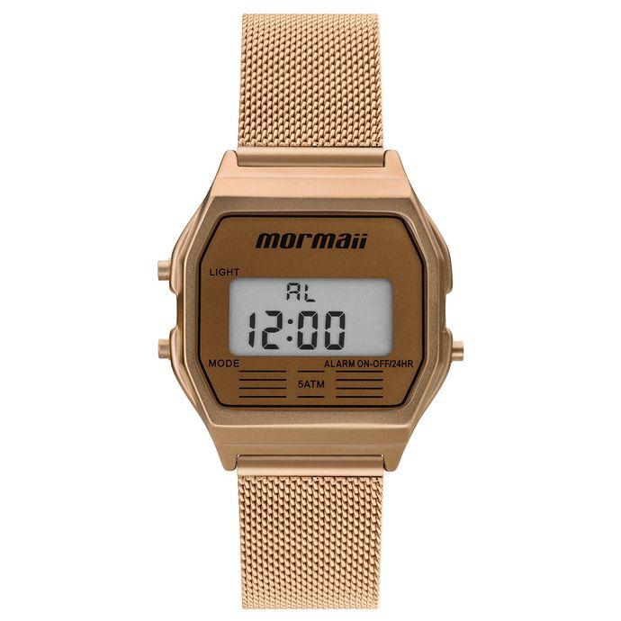 f186879266474 Relógio Mormaii Vintage Feminino Rosé MOJH02BC 4L
