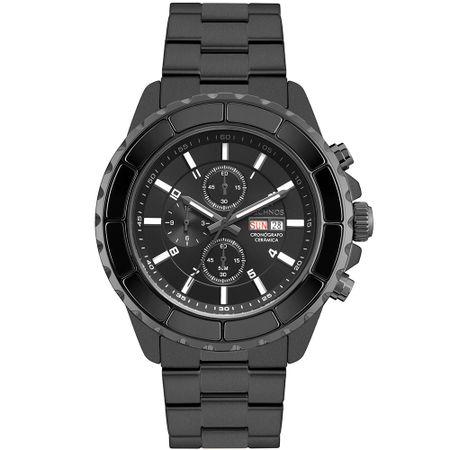 Relógio Technos Ceramic Masculino Preto OS00AC/5P