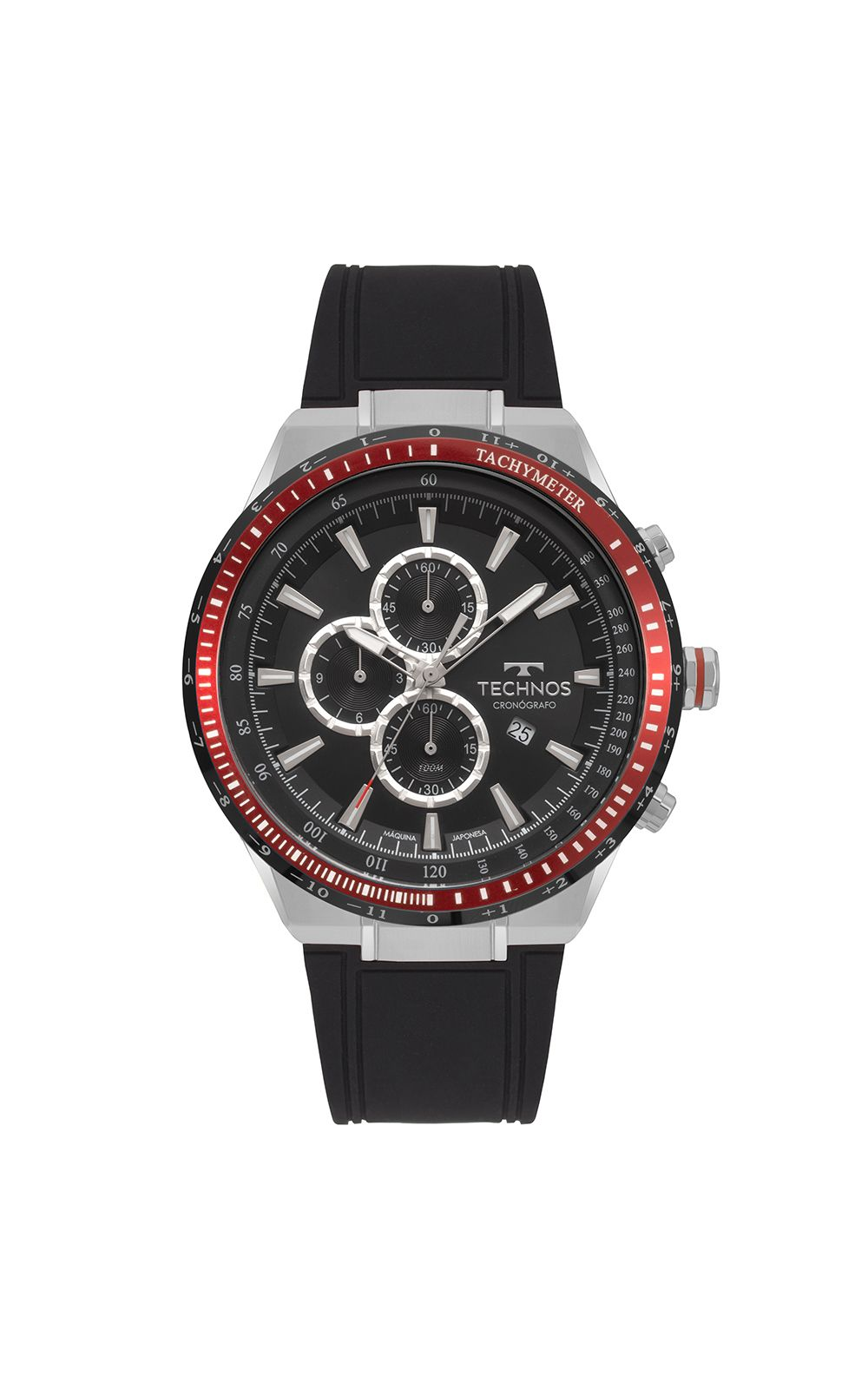a4f9515786d3c Relógio Technos Skymaster Masculino Prata OS10FB 8P