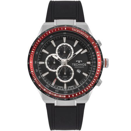 Relógio Technos Skymaster Masculino Prata OS10FB/8P