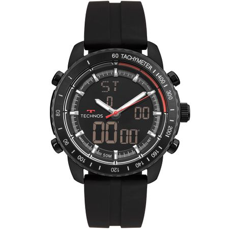 Relógio Technos Ts Anadigi Masculino Preto W23745AB/8P