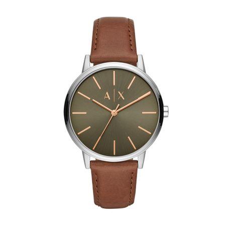 Relógio Armani Exchange Cayde Masculino Prata AX2708/0KN