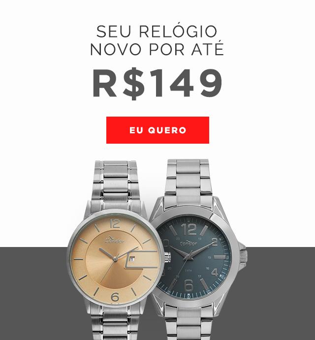 0b8e7d822f Relógios  Masculinos e Femininos