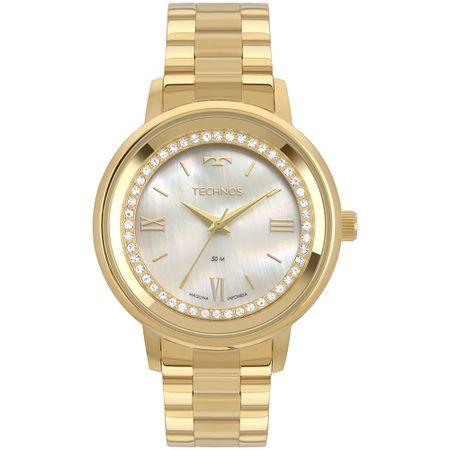 Relógio Technos Trend Feminino Dourado 2036MKX/4B
