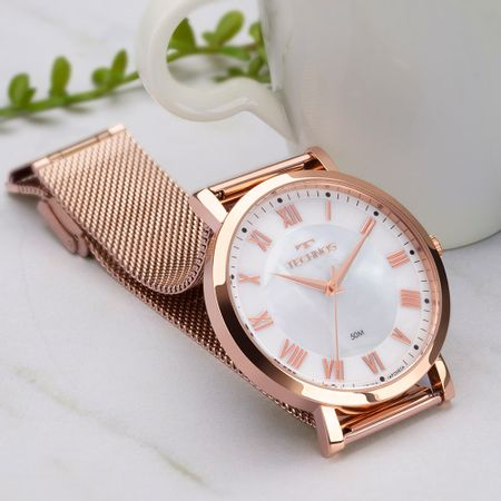 Relógio Technos Dress Feminino Rosé 2035MRA/K4B