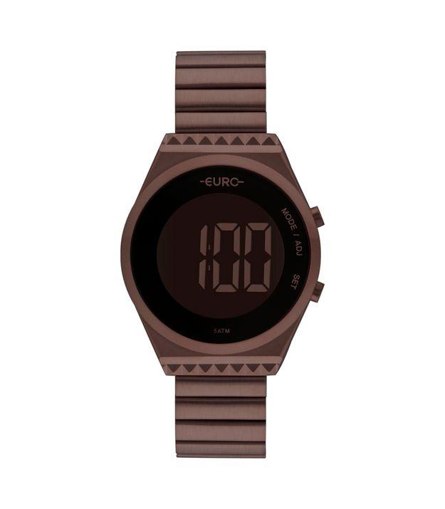 554e4be8c Relógio de Pulso Feminino: Dourado, Preto | Euro Relógios