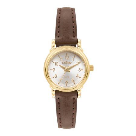Relógio Condor Mini Feminino Dourado CO2035MSD/2K