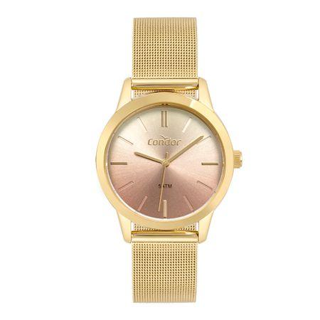 Relógio Condor Bracelete Feminino Dourado CO2035MTD/4M
