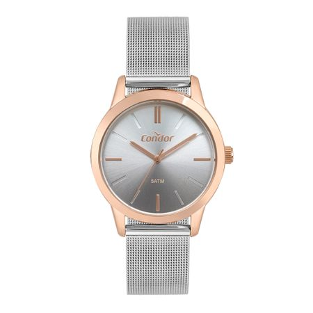 Relógio Condor Bracelete Feminino Bicolor CO2035MTE/5C
