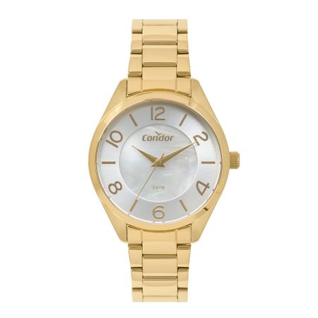 Relógio Condor Bracelete Feminino Dourado CO2036KWU/4B